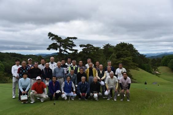 同窓会 ゴルフコンペを開催いたしました。